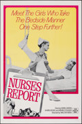 """Movie Posters:Adult, Nurses Report (Hemisphere Pictures, 1972). Folded, Fine/Very Fine. One Sheet (27"""" X 41""""). Adult.. ..."""