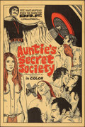 """Movie Posters:Adult, Auntie's Secret Society (Preferred Enterprises, 1973). Folded, Fine/Very Fine. One Sheet (28"""" X 42""""). Adult.. ..."""