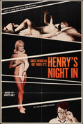 """Movie Posters:Adult, Henry's Night In (Astral, 1969). Folded, Fine/Very Fine. One Sheet (28"""" X 42""""). Adult.. ..."""