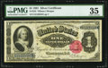 Large Size:Silver Certificates, Fr. 223 $1 1891 Silver Certificate PMG Choice Very Fine 35.. ...