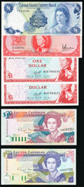 Queen Elizabeth Lot of 6 Examples About Uncirculated- Crisp Uncirculated. ... (Total: 6)