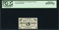 "Fractional Currency:Third Issue, Fr. 1226 3¢ Third Issue ""No Pearls"" PCGS Gem New 65PPQ.. ..."