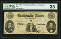 Confederate Notes:1861 Issues, T25 $10 1861 PF-2 Cr. 169 PMG Choice Very Fine 35.. ...