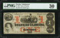 Tallahassee, FL- State of Florida $1 Mar. 1, 1863 Cr. 19 PMG Very Fine 30
