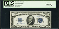 Fr. 1701 $10 1934 Silver Certificate. PCGS Choice New 63PPQ