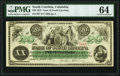 Obsoletes By State:South Carolina, Columbia, SC- State of South Carolina $20 Mar. 2, 1872 Cr. 7 PMG Choice Uncirculated 64.. ...