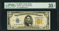 Fr. 2307* $5 1934A North Africa Silver Certificate. PMG Choice Very Fine 35 EPQ
