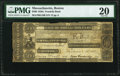 Obsoletes By State:Massachusetts, Boston, MA- Franklin Bank $500 Sep. 14, 1833 G100 PMG Very Fine 20.. ...