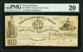 Obsoletes By State:Texas, Houston, TX- Government of Texas $20 Nov. 25, 1838 Cr. H19 PMG Very Fine 20.. ...
