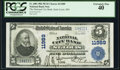 Saint Louis, MO - $5 1902 Plain Back Fr. 608 National City Bank Ch. # 11989 PCGS Extremely Fine 40