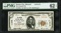 Kansas City, MO - $5 1929 Ty. 2 The Columbia National Bank Ch. # 11472 PMG Uncirculated 62 EPQ