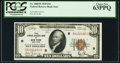 Small Size:Federal Reserve Bank Notes, Fr. 1860-B $10 1929 Federal Reserve Bank Note. PCGS Choice New 63PPQ.. ...