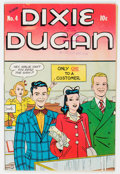 Golden Age (1938-1955):Humor, Dixie Dugan #4 Library of Congress Copy (Columbia, 1945) Condition: VF....