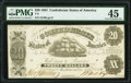 T9 $20 1861 PF-12 Cr. 31 PMG Choice Extremely Fine 45