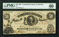 T8 $50 1861 PF-10 Cr. 22 PMG Extremely Fine 40