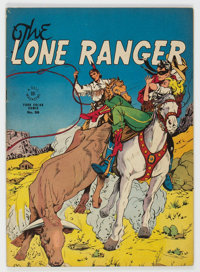 Four Color #98 The Lone Ranger (Dell, 1946) Condition: FN
