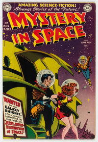 Mystery in Space #2 (DC, 1951) Condition: FN-