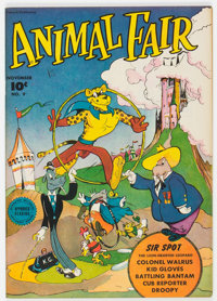 "Animal Fair #9 Davis Crippen (""D"" Copy) Pedigree (Fawcett Publications, 1946) Condition: VF/NM"