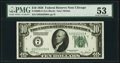 Fr. 2000-G $10 1928 Federal Reserve Note. PMG About Uncirculated 53