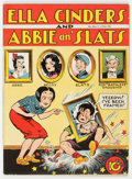 Golden Age (1938-1955):Humor, Single Series #28 Ella Cinders and Abbie and Slats (United Feature Syndicate, 1942) Condition: FN/VF....