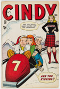 Golden Age (1938-1955):Humor, Cindy Comics #28 (Timely, 1948) Condition: FN. Har...