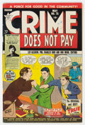 Golden Age (1938-1955):Crime, Crime Does Not Pay #75 Cape Cod Pedigree (Lev Gleason, 1949) Condition: FN/VF....