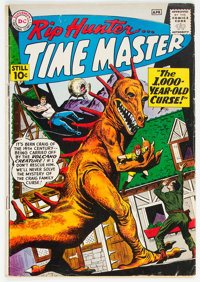 Rip Hunter Time Master #1 (DC, 1961) Condition: VG+