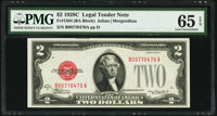 Fr. 1504 $2 1928C Legal Tender Note. PMG Gem Uncirculated 65 EPQ