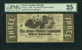 Obsoletes By State:North Carolina, Raleigh, NC- State of North Carolina $3 Jan. 1, 1863 Cr. 127A PMG Very Fine 25.. ...