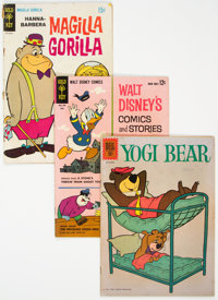 Gold Key and Others Silver-Modern Age Humor Comics Box Lot (Various Publishers, 1960s-80s) Condition: Average GD/VG