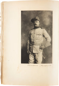Theodore Roosevelt Signed Limited Edition Copy of Big Game Hunting in the Rockies and on the Great Plains