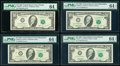 Fr. 2029-G* $10 1990 Federal Reserve Star Note. PMG Choice Uncirculated 64; Fr. 2029-I $10 1990 Federal Reserve Note. PM...