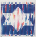 Prints & Multiples, Yaacov Agam (b. 1928). Star of Hope, late 20th century. Agamograph. 13-1/2 x 13-1/2 inches (34.3 x 34.3 cm). Ed. 19/99. ...