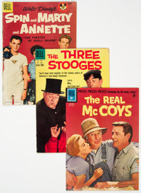 Four Color Group of 36 (Dell, 1952-62) Condition: Average VG.... (Total: 36 Comic Books)