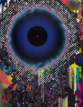 Prints & Multiples, Takashi Murakami (b. 1962). Warp, 2009. Offset lithograph in colors on satin wove paper. 34-1/4 x 26-3/4 inches (87 x 67...