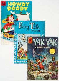 Four Color Humor Comics Group of 17 (Dell, 1945-62) Condition: Average VG.... (Total: 17 Comic Books)