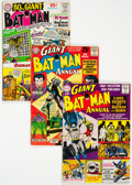 Silver Age (1956-1969):Superhero, Batman Annual Group of 6 (DC, 1961-64) Condition: Average VG.... (Total: 6 Items)