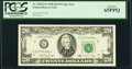 Fr. 2078-G* $20 1990 Federal Reserve Note. PCGS Gem New 65PPQ