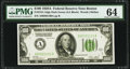 Fr. 2151-A $100 1928A Dark Green Seal Federal Reserve Note. PMG Choice Uncirculated 64