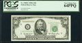 Fr. 2108-E $50 1950A Federal Reserve Note. PCGS Very Choice New 64PPQ