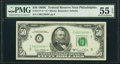 Fr. 2117-C* $50 1969C Federal Reserve Note. PMG About Uncirculated 55 EPQ
