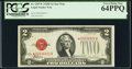 Fr. 1507* $2 1928F Legal Tender Note. PCGS Very Choice New 64PPQ
