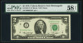 Low Serial Number 2339 Fr. 1935-I* $2 1976 Federal Reserve Note. PMG Choice About Unc 58 EPQ