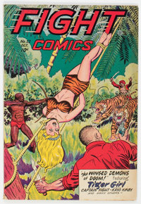 Fight Comics #52 (Fiction House, 1947) Condition: FN