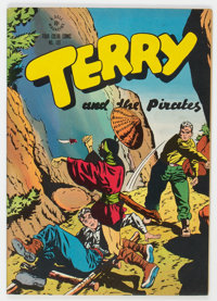 Four Color #101 Terry and the Pirates (Dell, 1946) Condition: VF