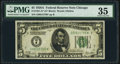 Fr. 1951-G* $5 1928A Federal Reserve Note. PMG Choice Very Fine 35