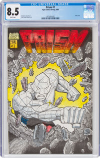Prism #1 (Ajax Comics Group, 1985) CGC VF+ 8.5 White pages