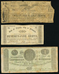 Obsoletes By State:Virginia, A Half Dozen Circulated Obsolete Notes from Virginia. Good or Better.. ... (Total: 6 notes)