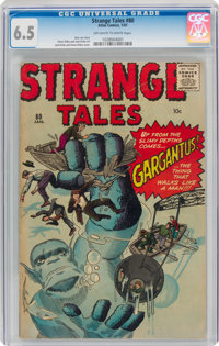 Strange Tales #80 (Marvel, 1961) CGC FN+ 6.5 Off-white to white pages