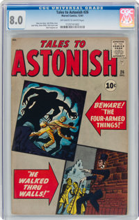 Tales to Astonish #26 (Marvel, 1961) CGC VF 8.0 Off-white to white pages
